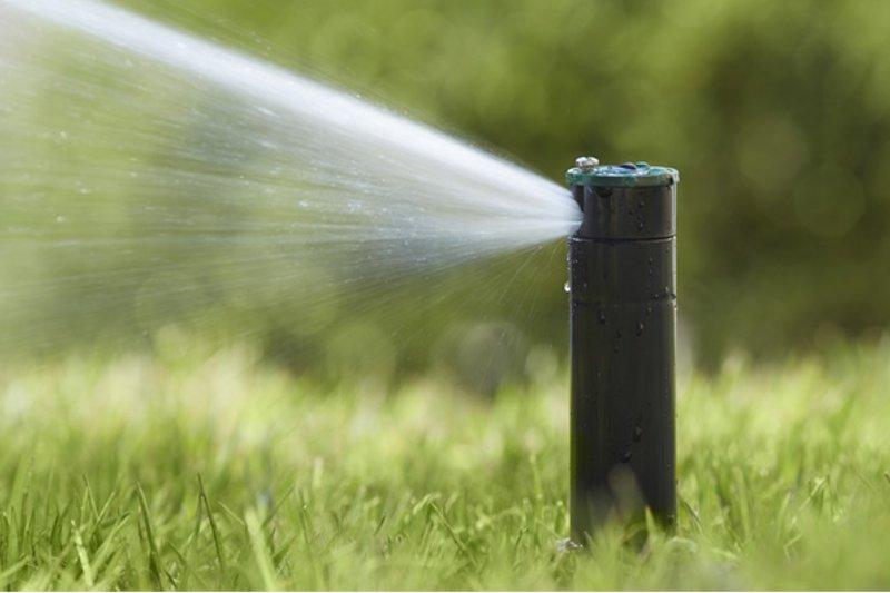 Impianto di irrigazione interrato