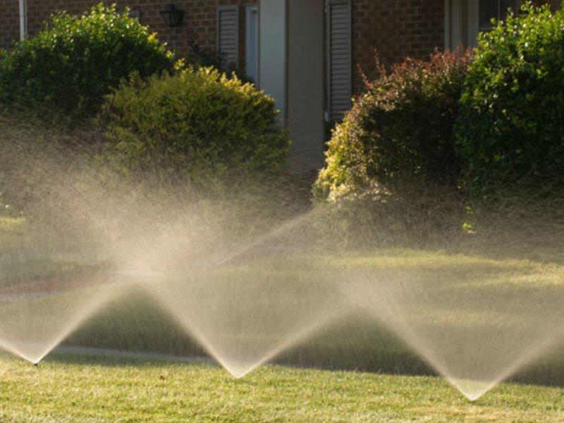 impianto di irrigazione interrato automatizzato