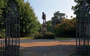 Entrata giardini indro montanelli ex giardini di porta venezia